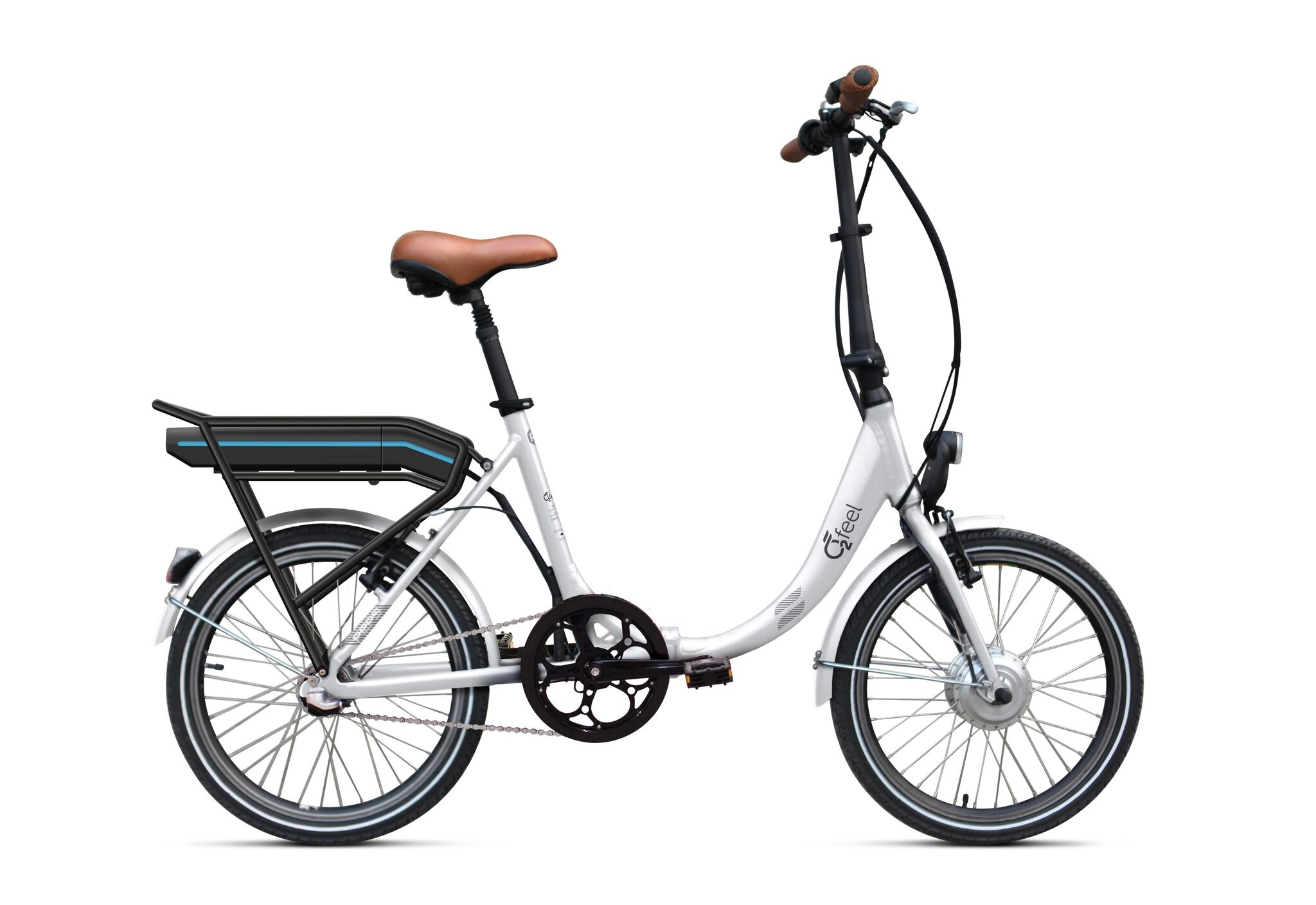 electric folding bike o2feel peps bas n3 o2feel. Black Bedroom Furniture Sets. Home Design Ideas