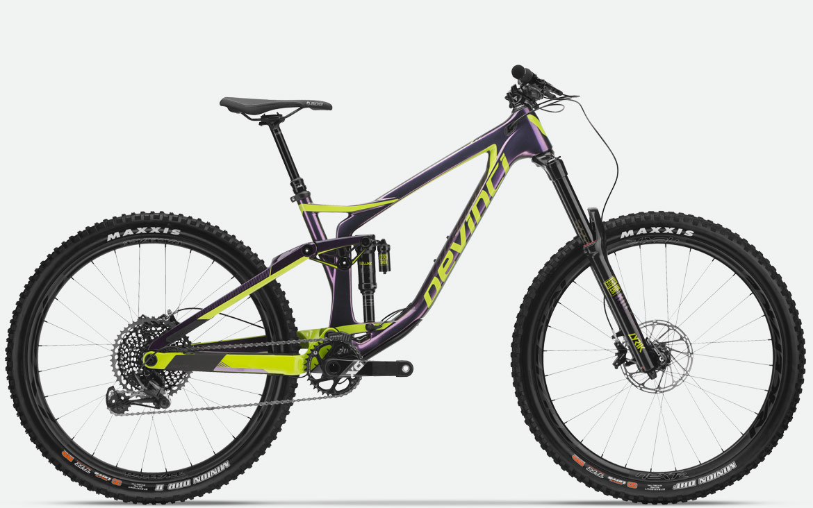 test bike devinci spartan carbon x01 eagle 2018 medium. Black Bedroom Furniture Sets. Home Design Ideas