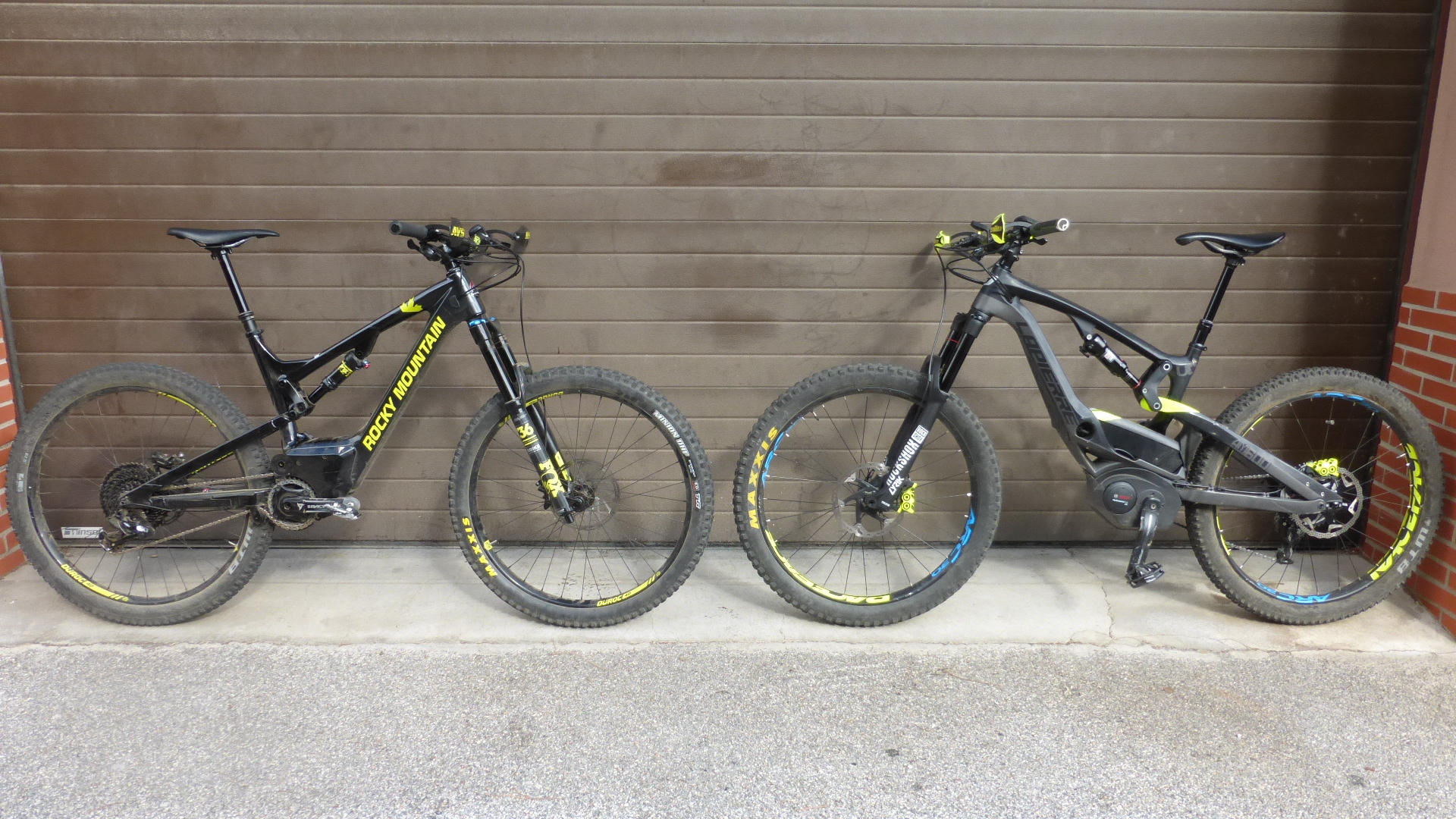 Rocky Mountain Powerplay VTTAE Test y Lapierre Overvolt Carbon.