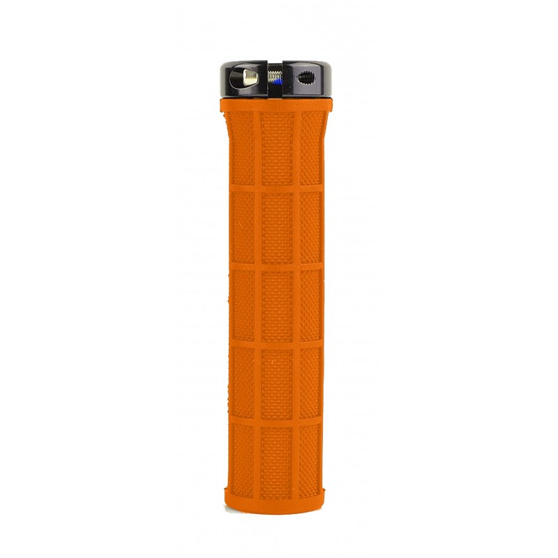 Parts 8.3 Grips Half Diamond Orange//Collier Noir Poign/ées de v/élo Adulte Unisexe Taille Unique